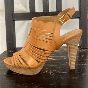 Franco Sarto leather heels size 7